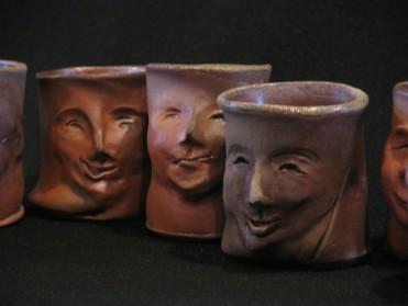 slab built face cups